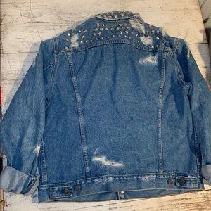 Levi's Jackets & Coats - Levi's Vintage Distressed Embellished Jean Jacket